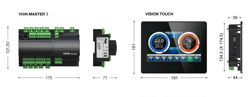 100N MASTER + VISION TOUCH